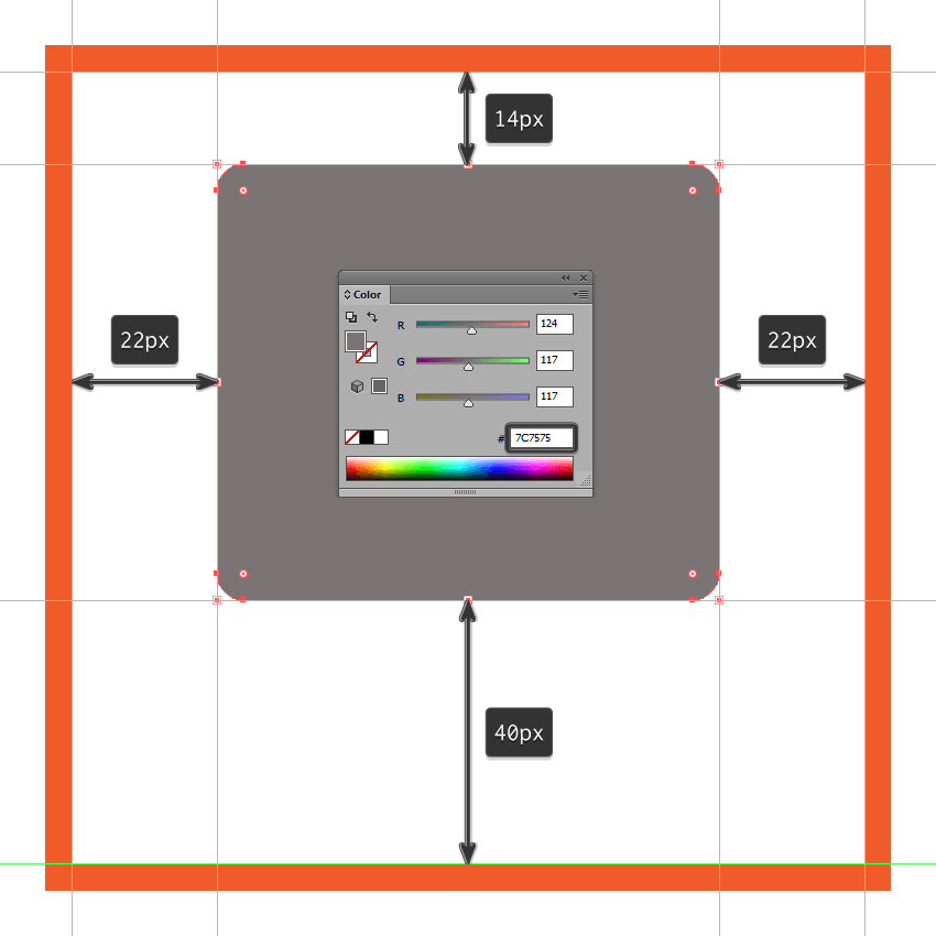 creating and positioning the main shape for the front section of the cameras body