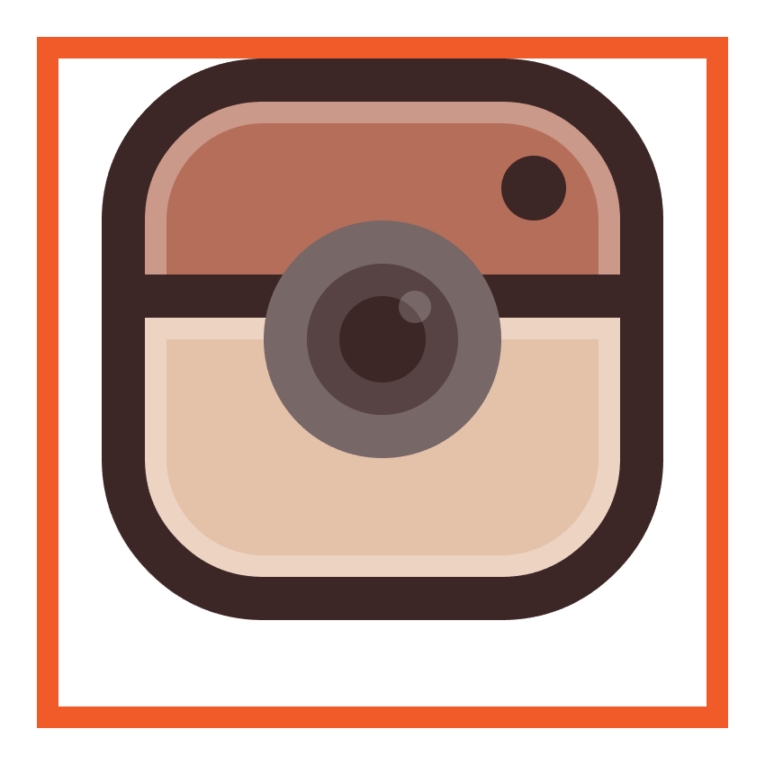adding the small circular reflection to the instagram icons lens