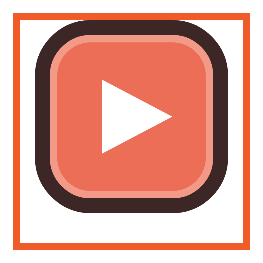adjusting the shape of the youtube icons play arrow