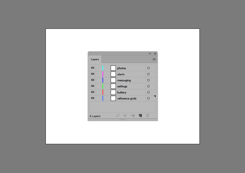 setting up the layers