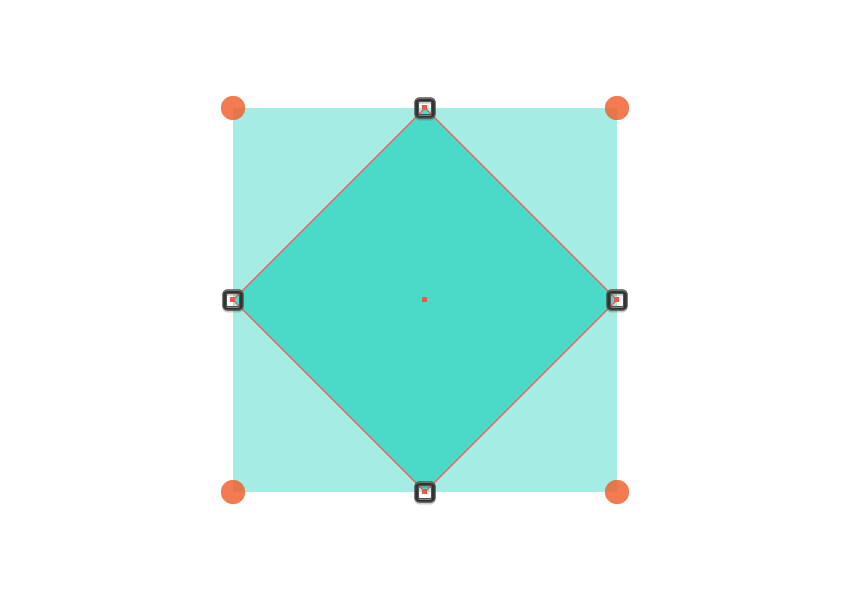 adjusting the main shape of the middle dividers center section