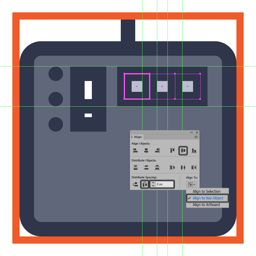 adding the first row of d pads to the midi controller icon