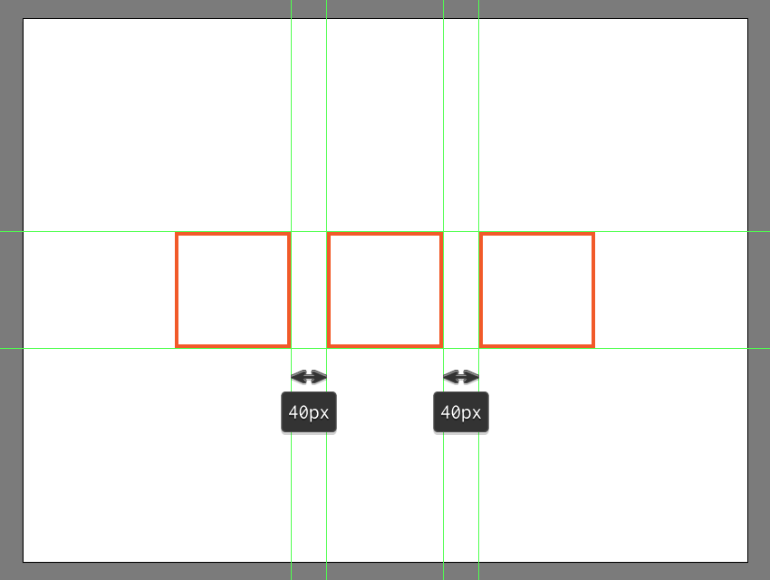creating and positioning the remaining reference grids