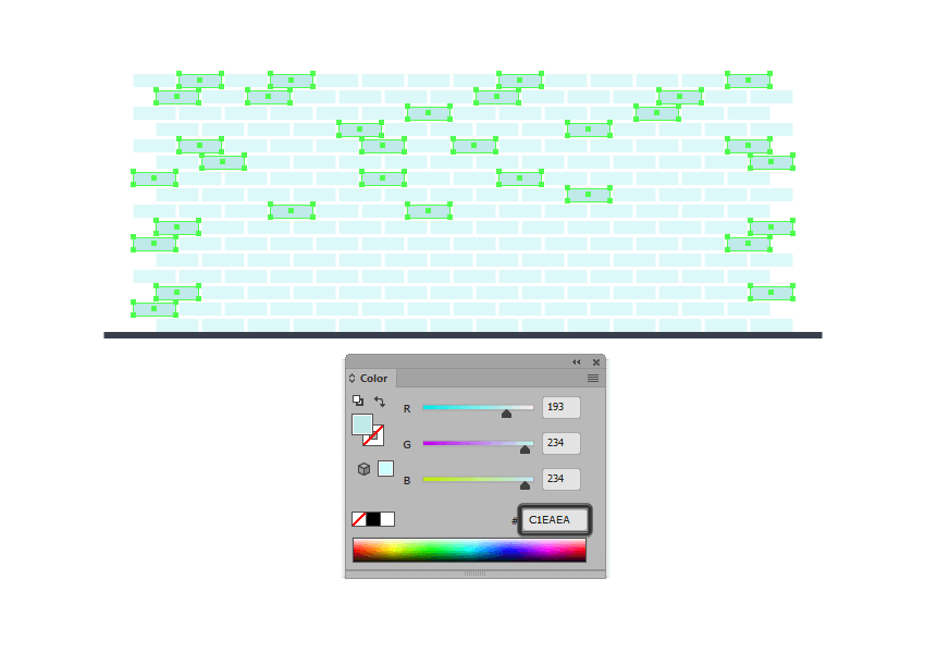 changing the color of some of the backgrounds tiles