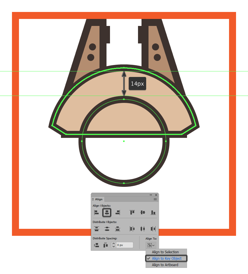 adding the center ring to the millennium falcons upper body