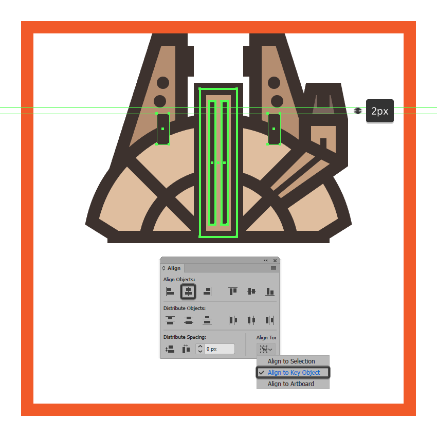 adding the deflector shield protectors to the millennium falcons upper body