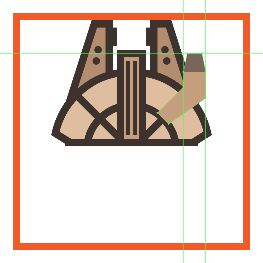 adding the window section to the millennium falcons cockpit