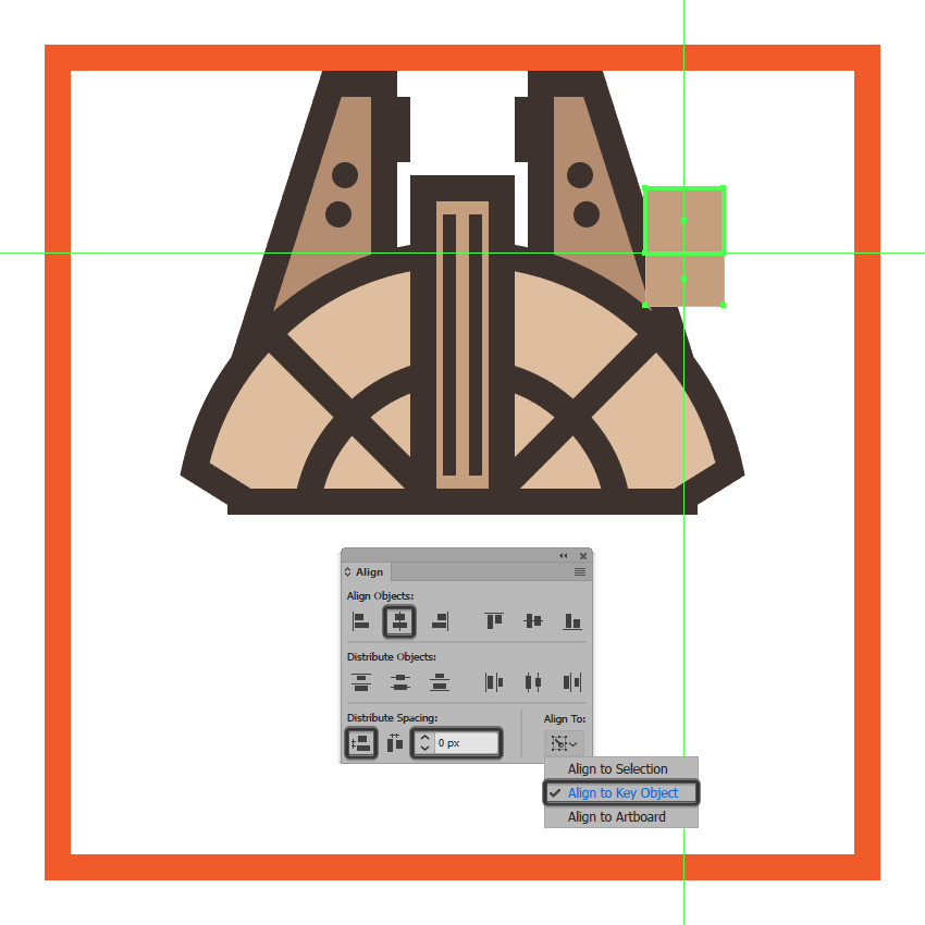 creating the main shape for the center section of the millennium falcons cockpit