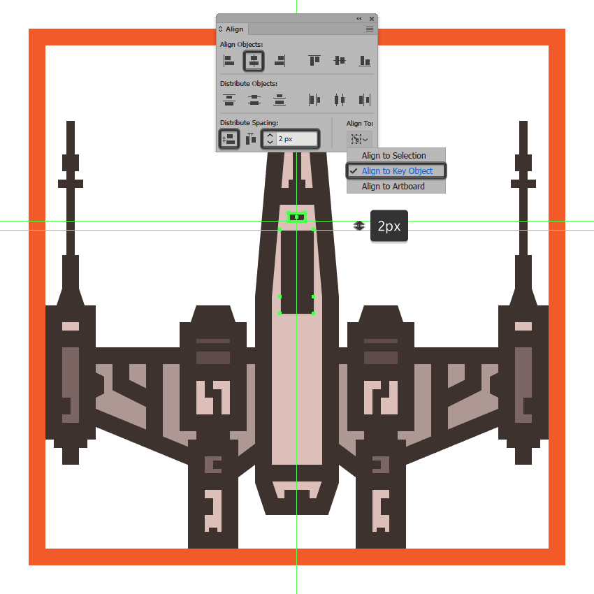 creating the main shapes for the x-wings cockpit