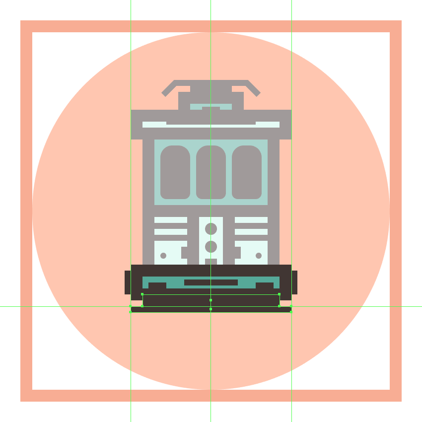 adding the smaller bottom detail rectangle to the trams front bumper