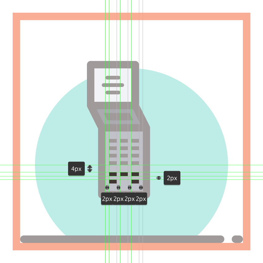 adding the bottom button rows to the first phones dial section