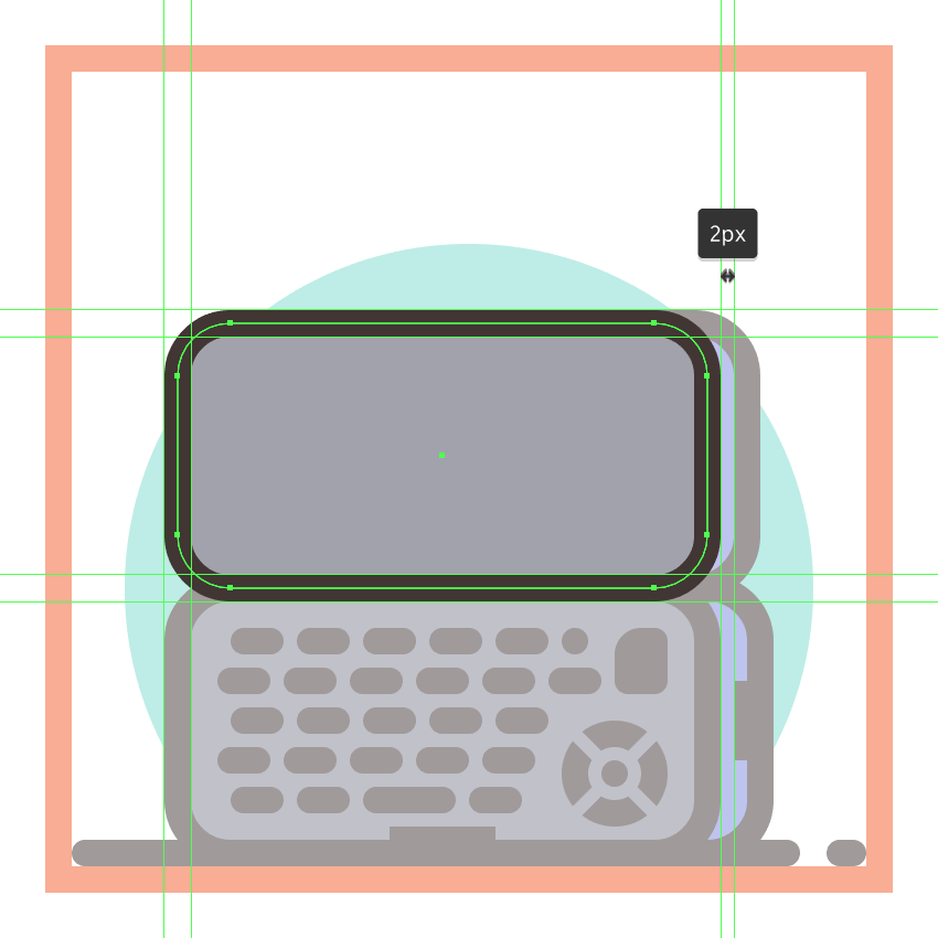 adding the front section to the second phones upper half