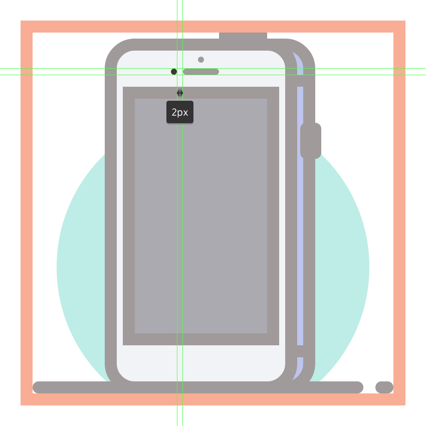 adding the light sensor to the third phones front section