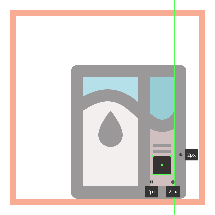 adding the larger nutritional square to the milk boxs side section