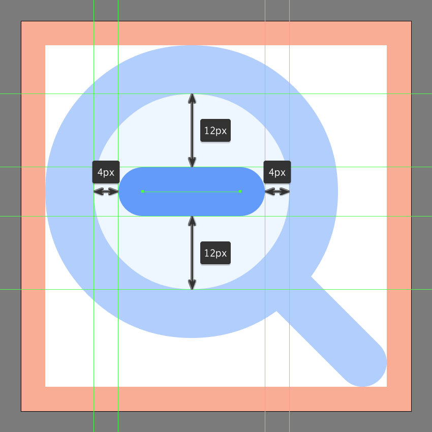 creating the zoom out button