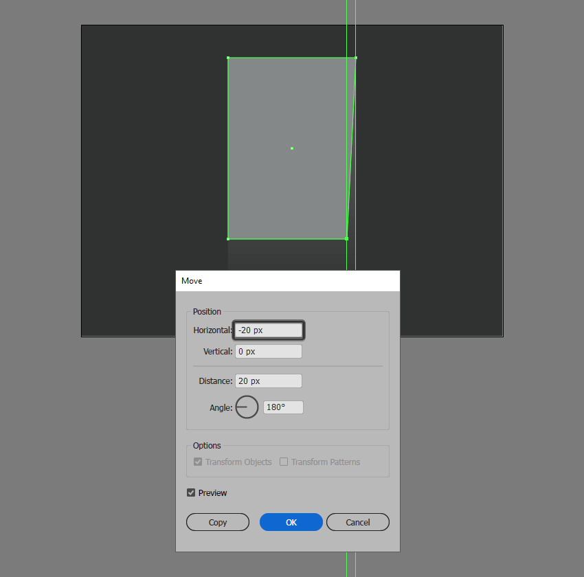 adjusting the shape of the entrance