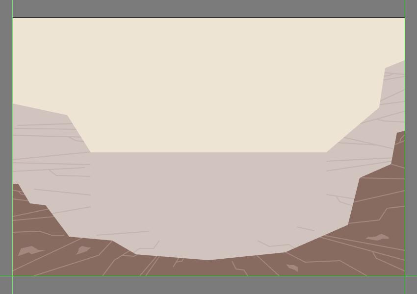 drawing the rocks
