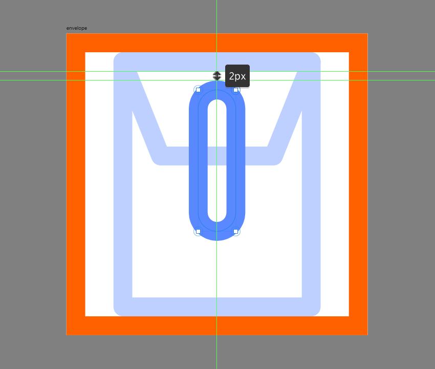 adding the string segment to the envelope