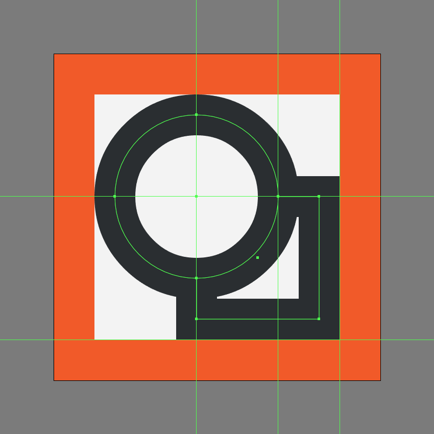 finishing off the shapes icon