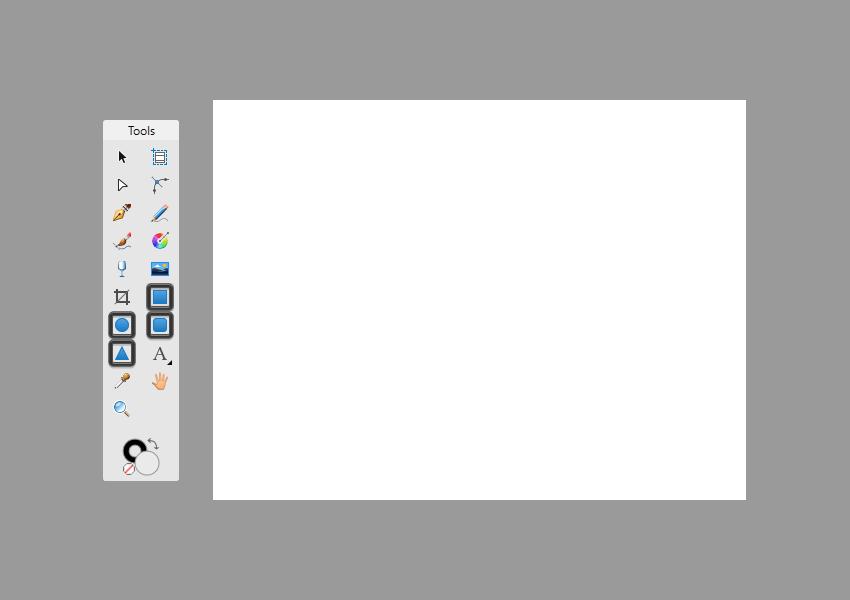 affinity designer shape tools