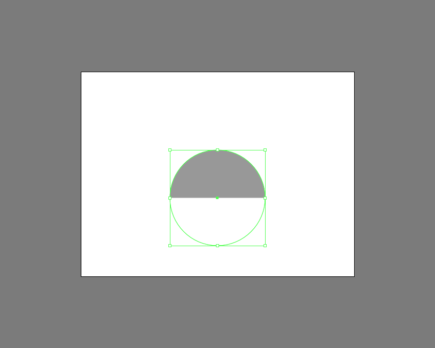 example of masked shape in illustrator