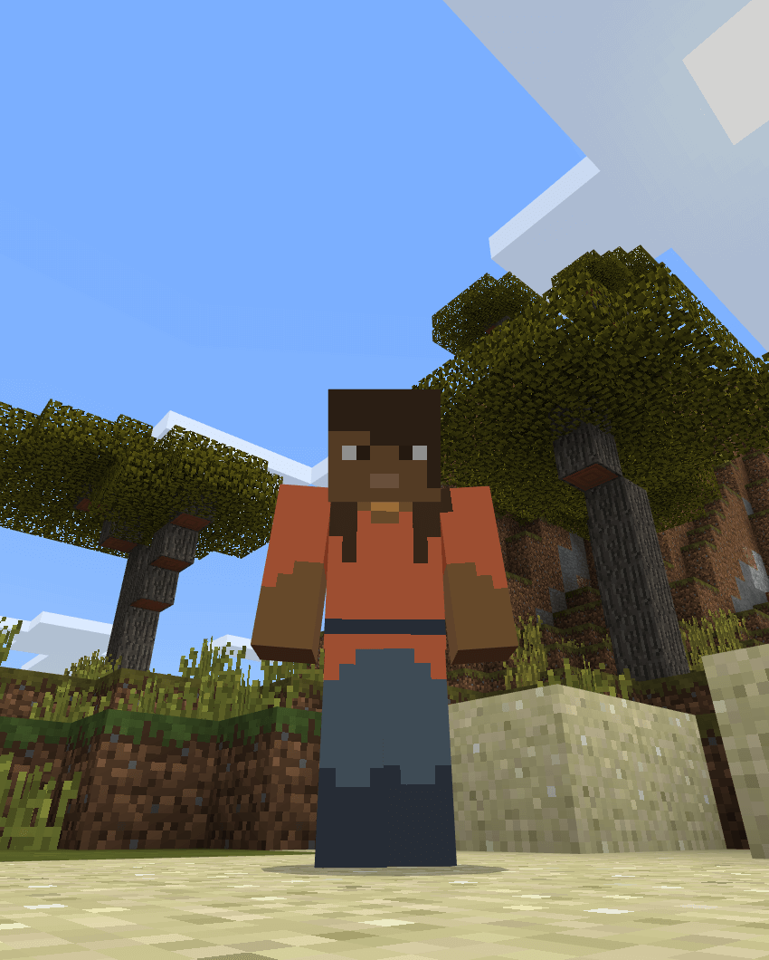 in game skin example