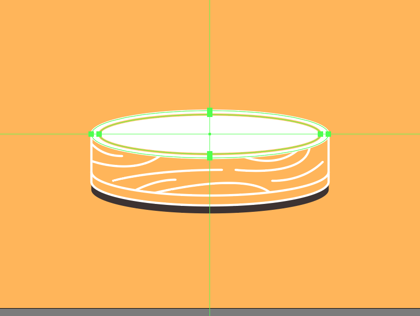 adding the ring insertion to the upper section of the wooden base