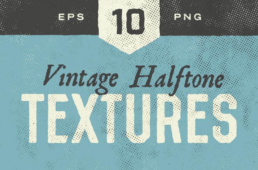 vintage halftone textures by envato elements