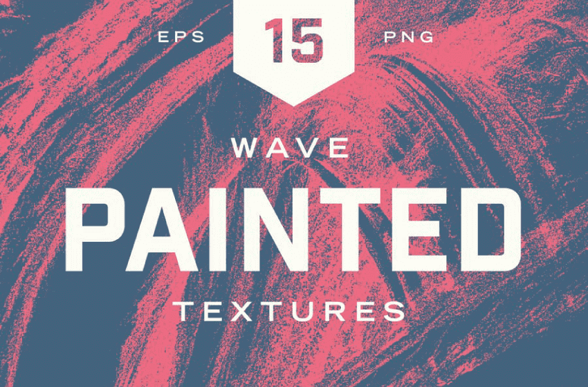 painted wave textures by envato elements