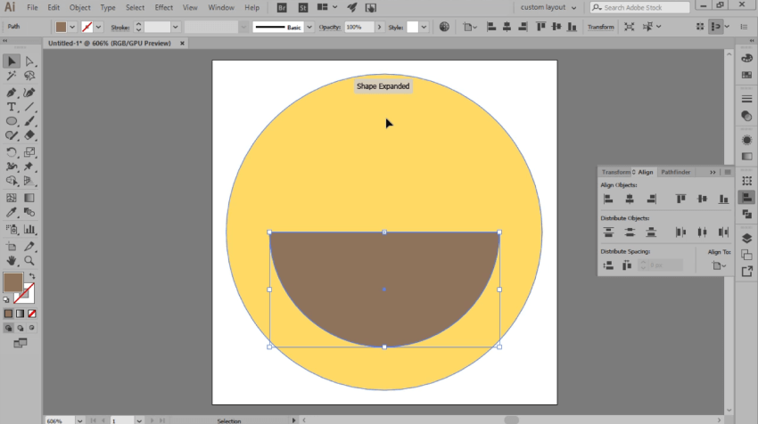 adding the main shape for the mouth