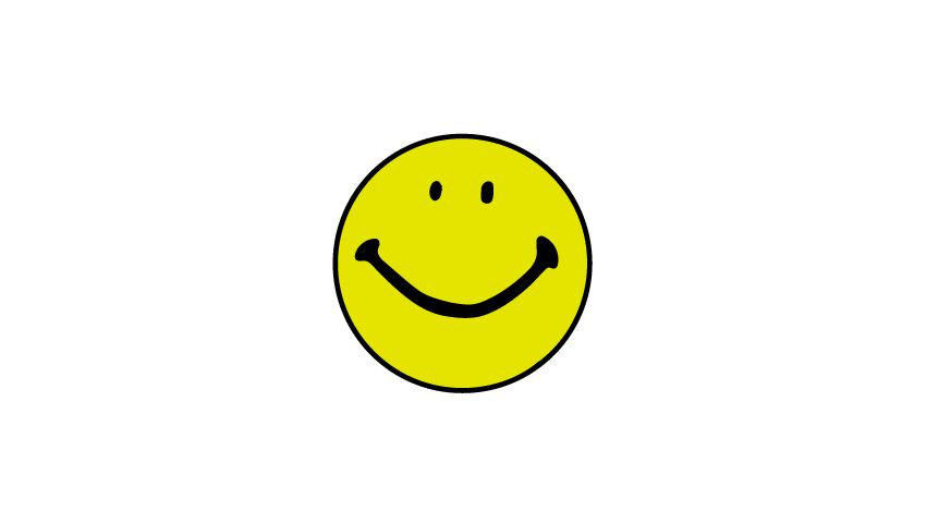 recreation of harvey balls original smiley face