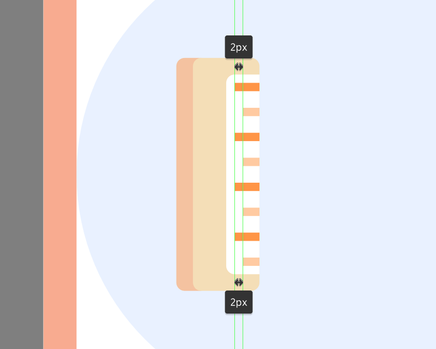 adjusting the length of the indicator lines