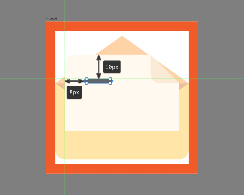 creating the narrower text line