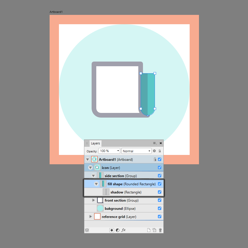 masking the shadow in ad