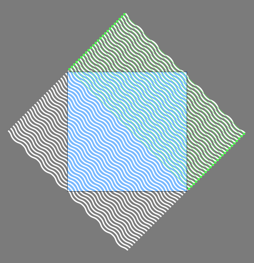 adding the top-right lines to the first pattern