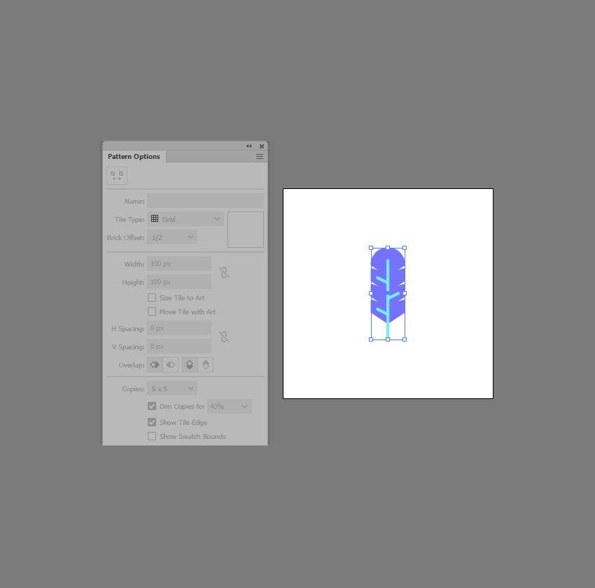 how to design patterns in Illustrator
