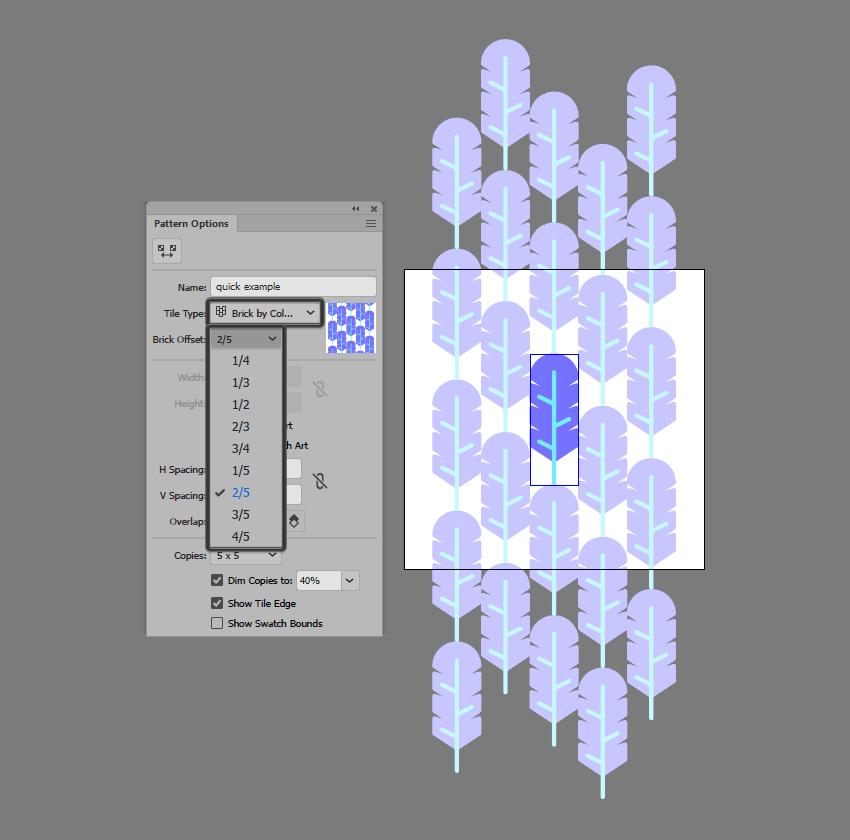 using brick by column