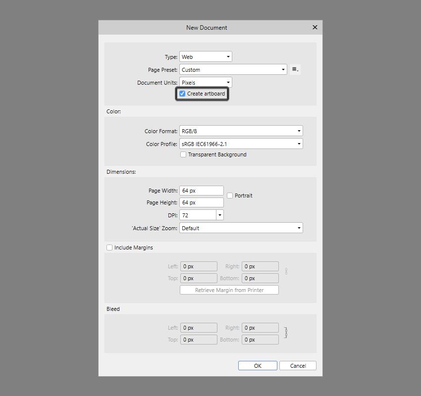 artboard implementation in affinity designer