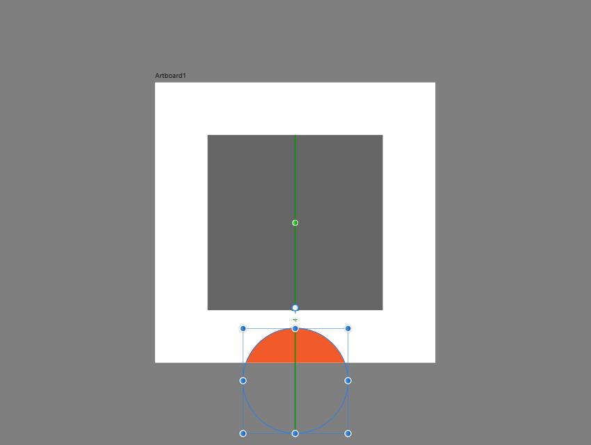 distance tracking in affinity designer