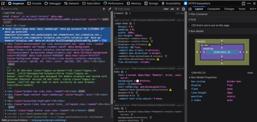 Firefox Dev Tools