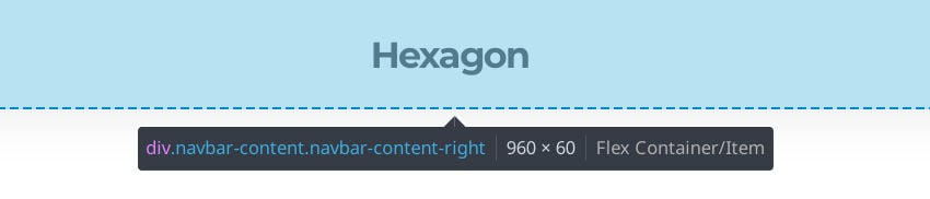 Getting the header height through dev tools