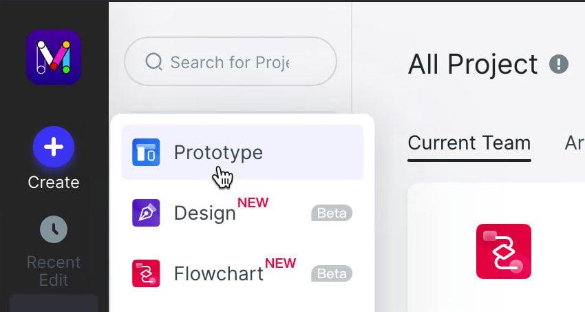 start prototype