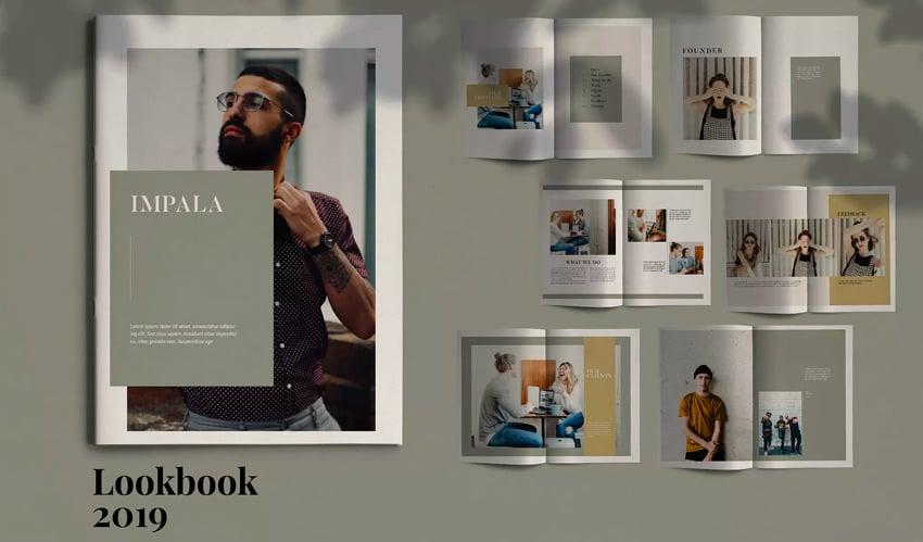 IMPALA - InDesign Brochure Template