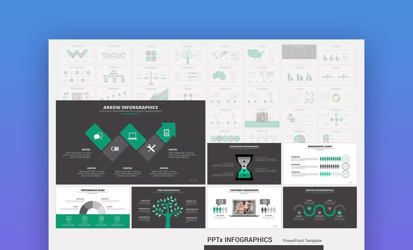 PPTx Infographics Template