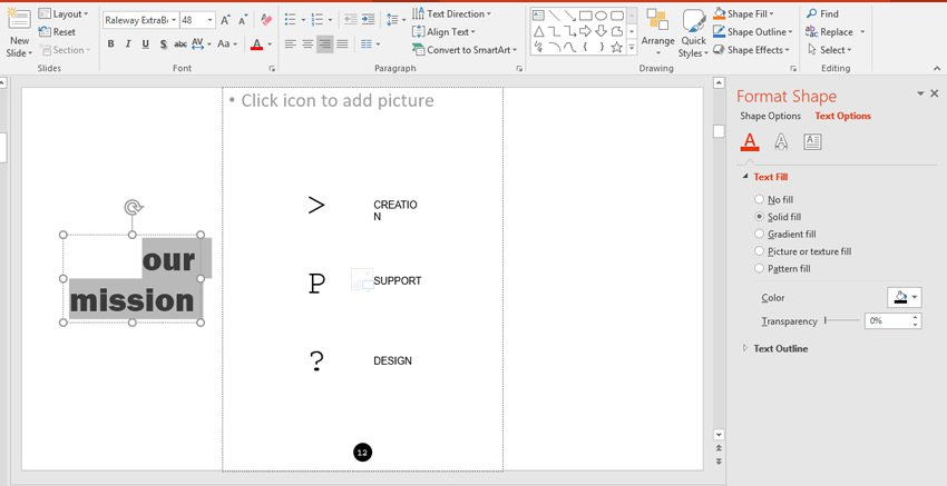 Text File and Outline