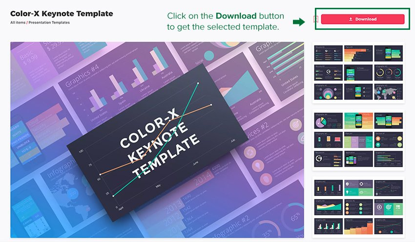 Download the Selected Keynote Template