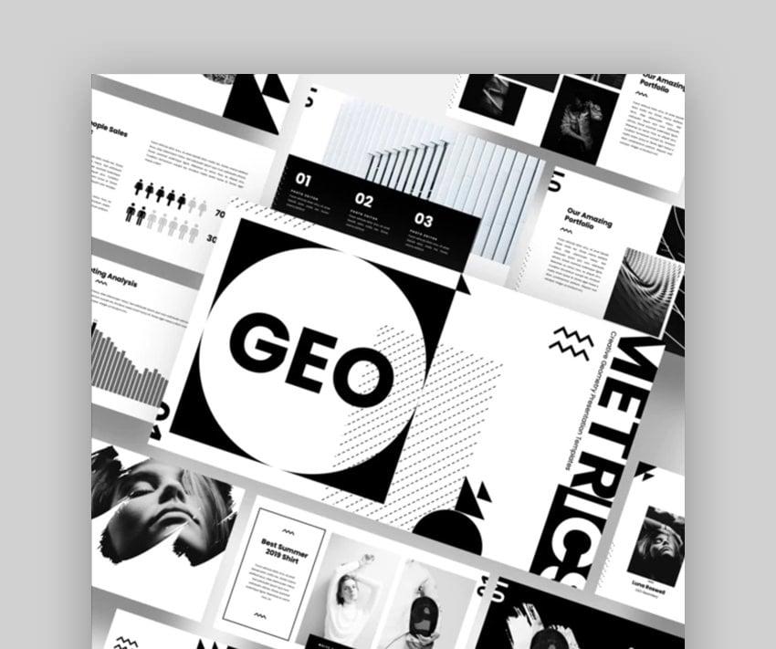 GEO - Creative Geometry Keynote Template