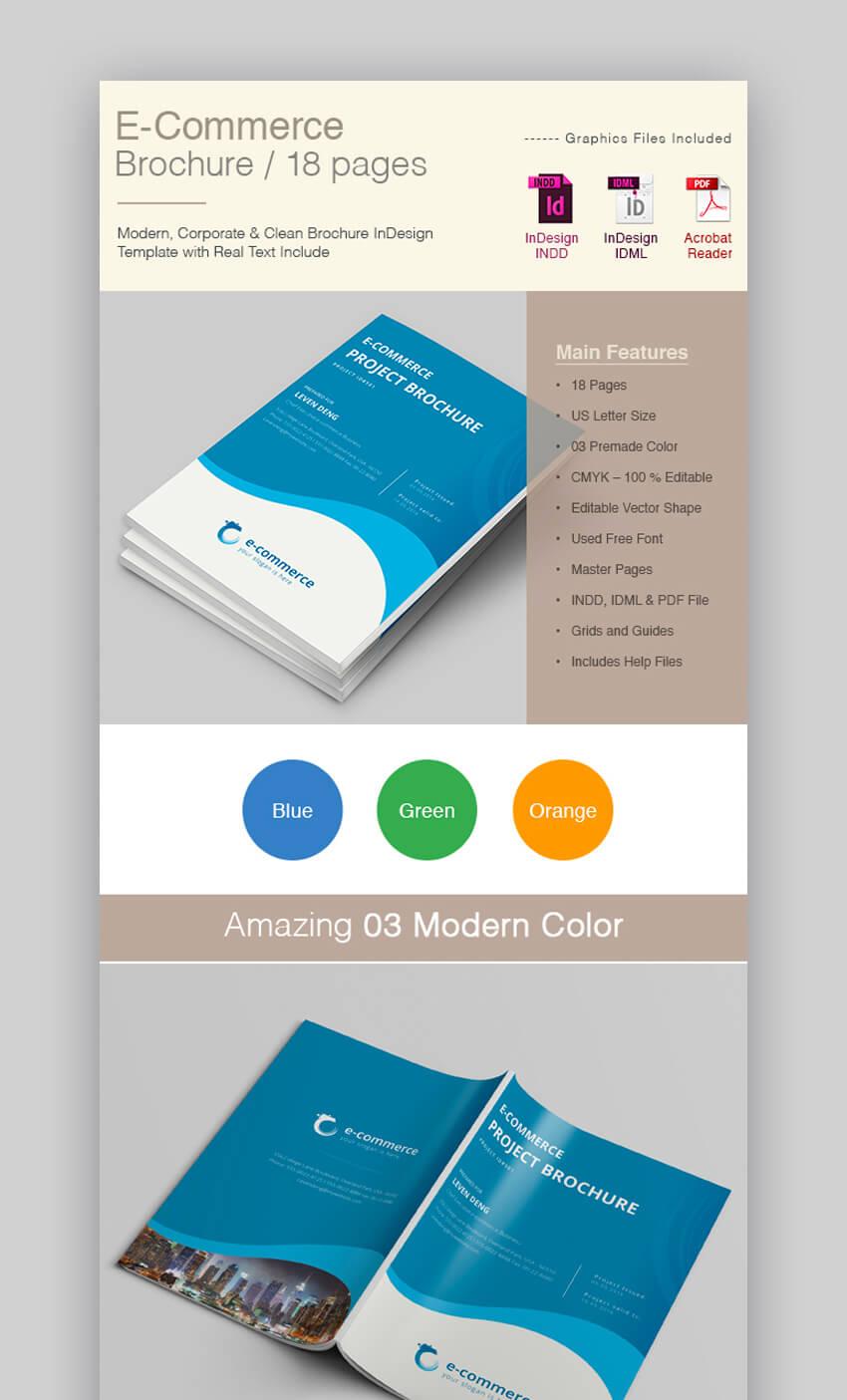 E-Commerce Business Brochure