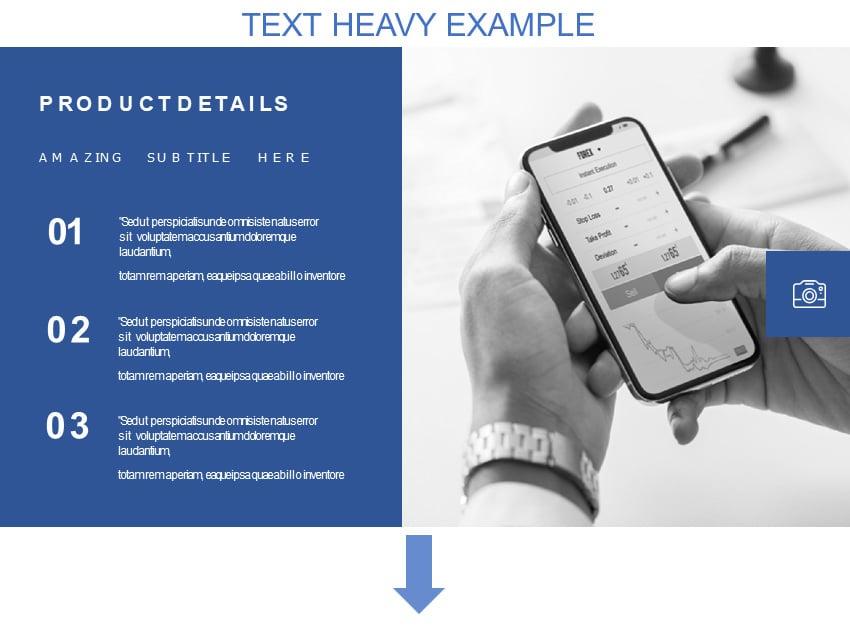 Text Heavy Example
