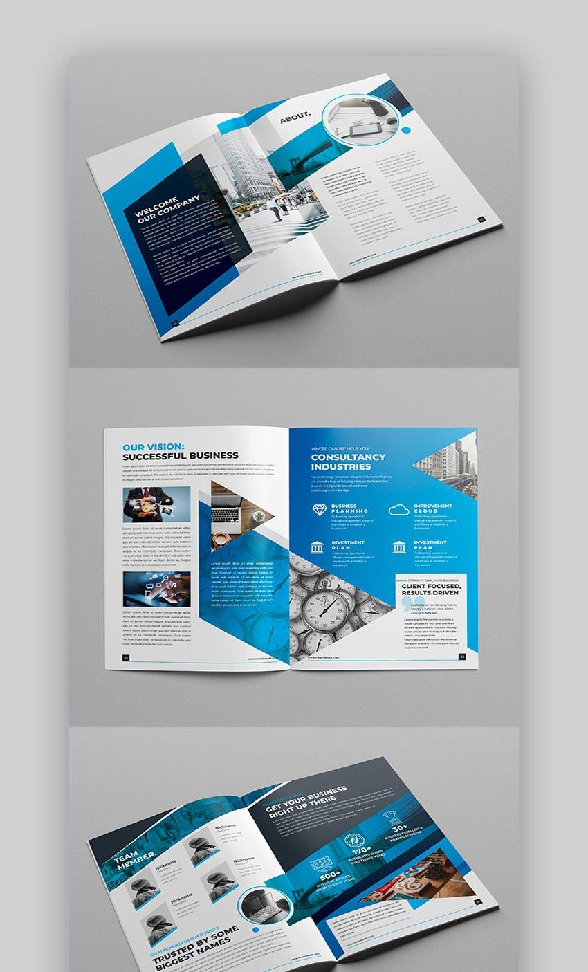 Modern Brochure 8 Page